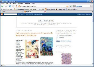 El blog de Ana; un blog de plástica en el Colegio Base.